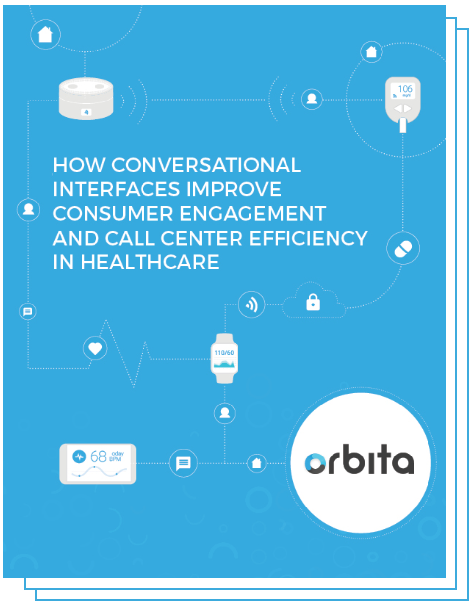 Cover Page - How Conversational Interfaces Improve Consumer Engagement and Call Center Efficiency in Healthcare