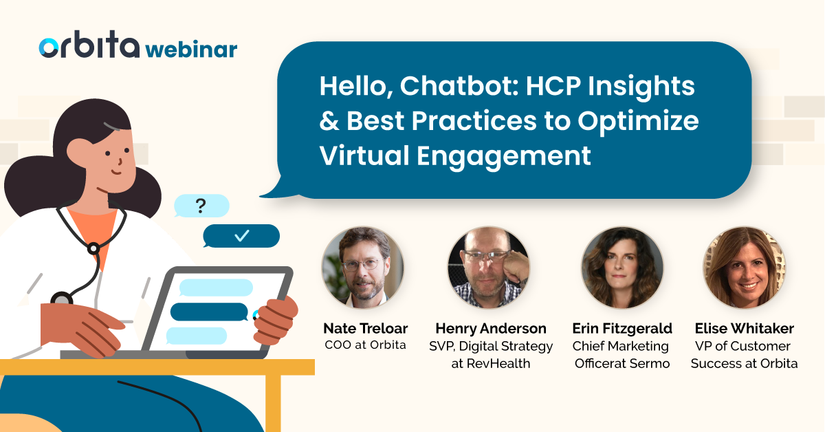 Hello, Chatbot HCP Insights & Best Practices to Optimize Virtual Engagement