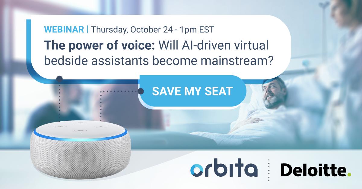 Orbita webinar with Deloitte: Thursday, October 24