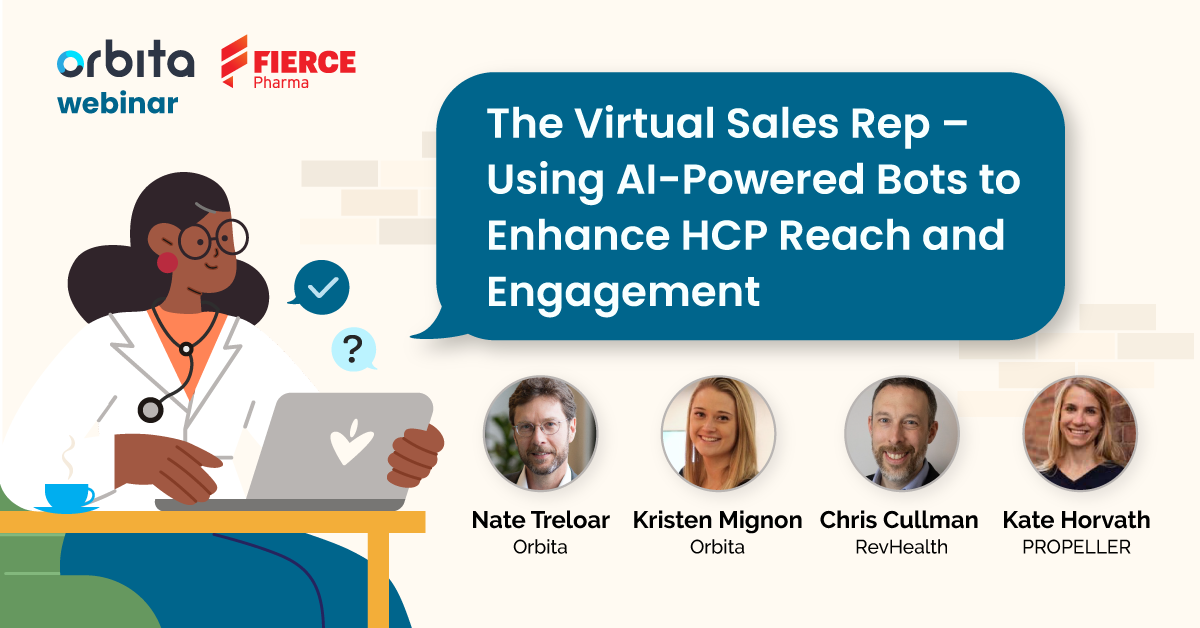 The Virtual Sales Rep - Using AI-Powered Bots to Enhance HCP Reach and Engagement