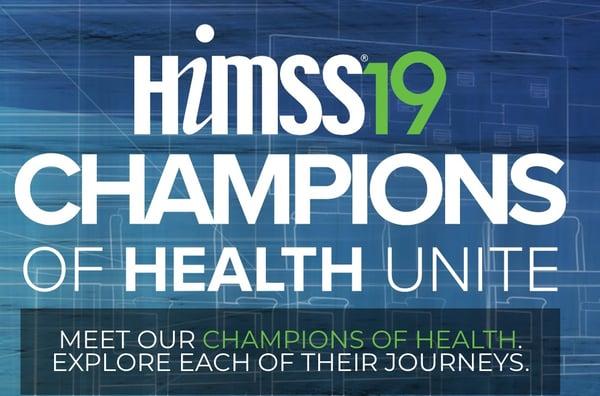 HIMSS19 Champions of Health