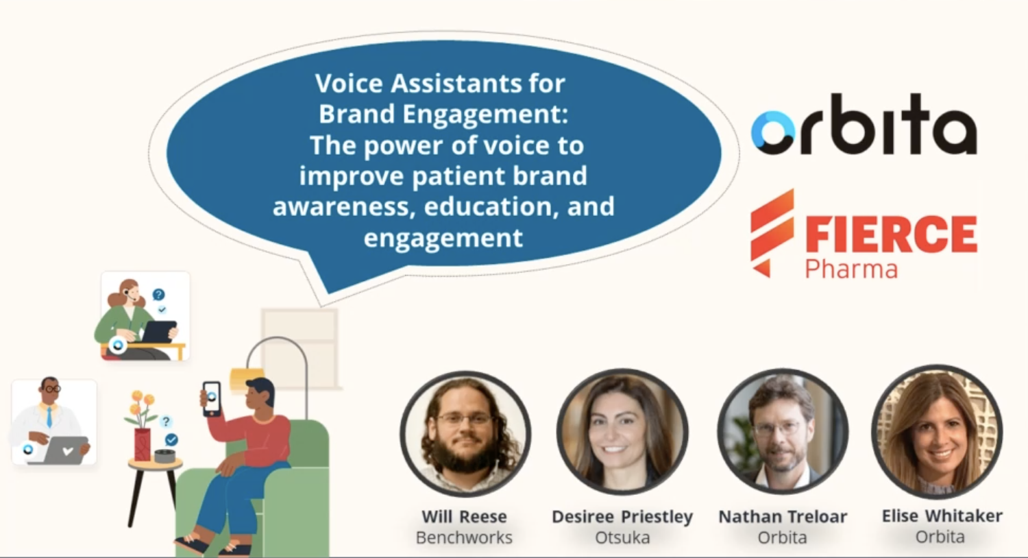Voice Assistants for Brand Engagement: The power of voice to improve patient brand awareness, education, and engagement